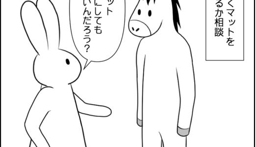 家のマット③