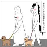 虎太郎と三桜の散歩②